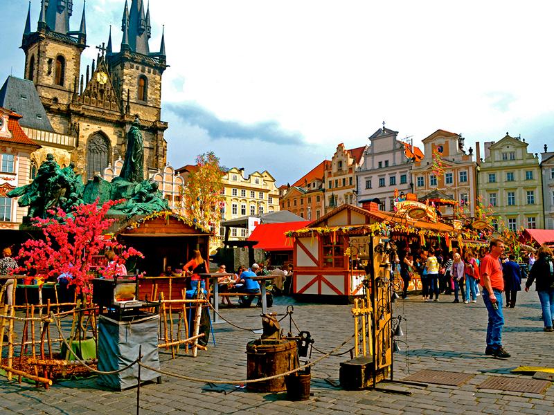 Маршрут по Праге на один день