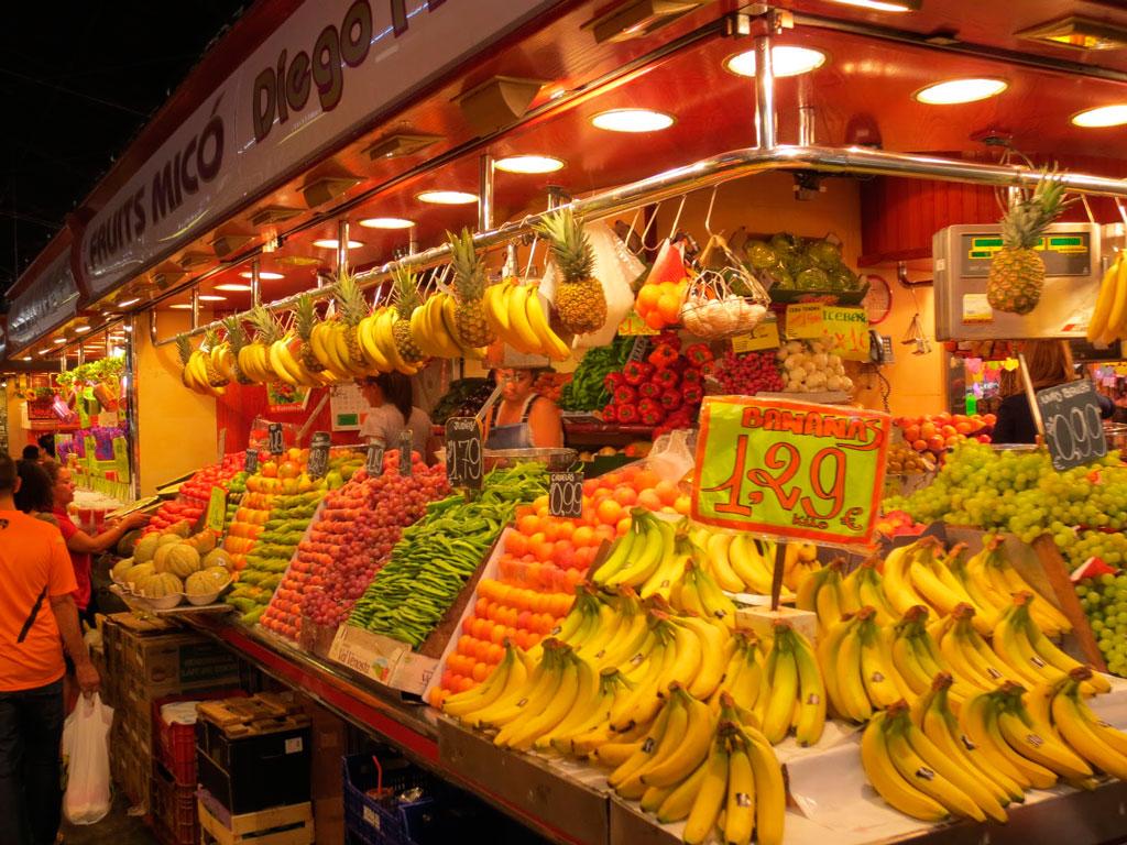 Городской рынок Бокерия