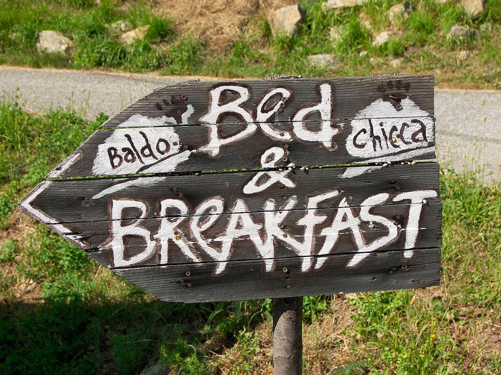 Размещение bed and breakfast