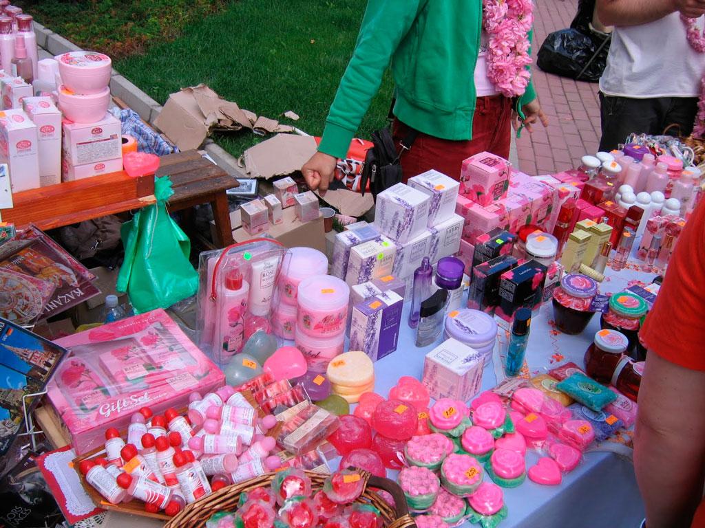 Сувениры из экстракта роз