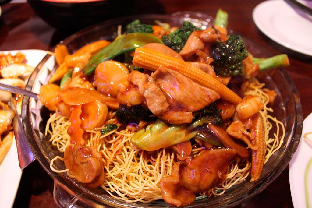 Местная кухня Шанхая