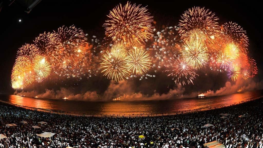 Новый год в Бразилии, Рио-де-Жанейро