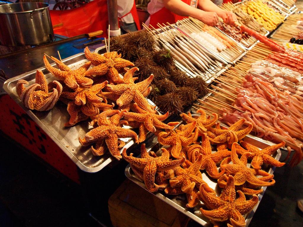 Уличная еда в Пекине