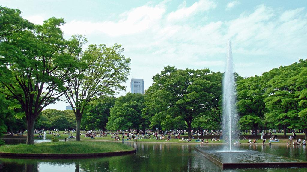 парк Yoyogi