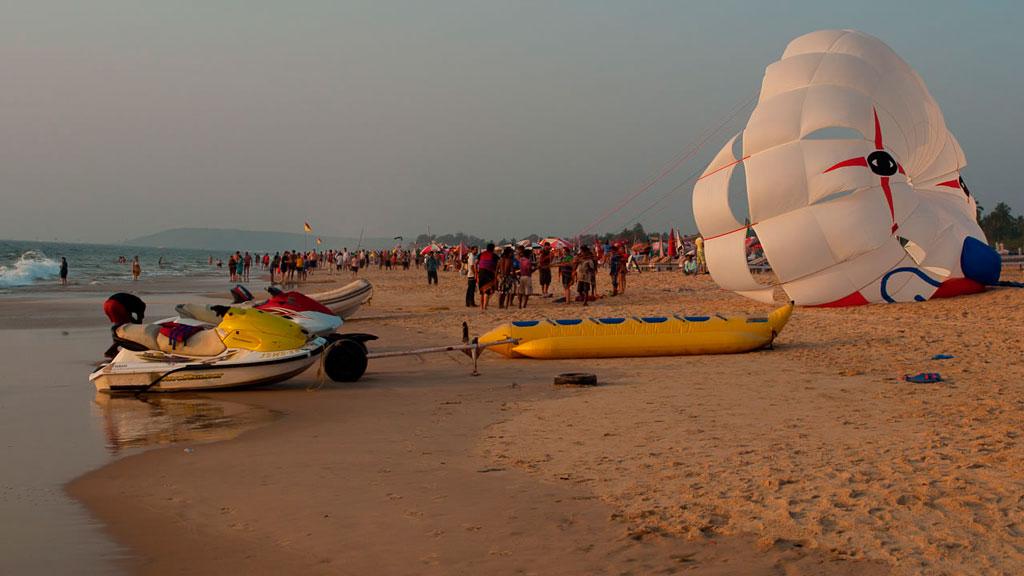 пляж Кандолим