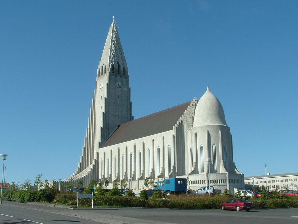 церковь Халлгримур