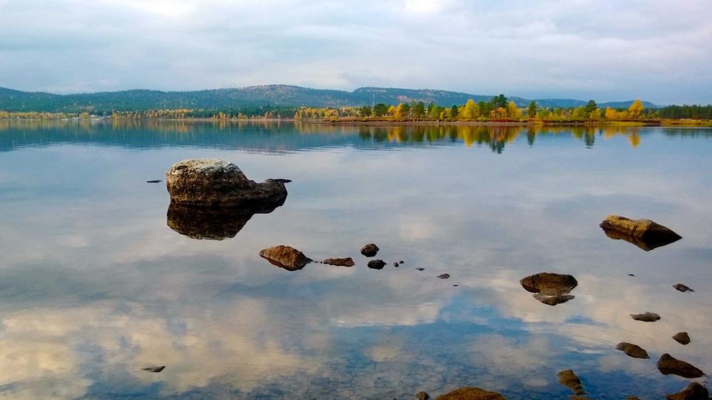 Озеро Инари, Финляндия