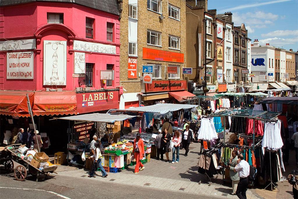 Рынок на Петтикоэт Лейн