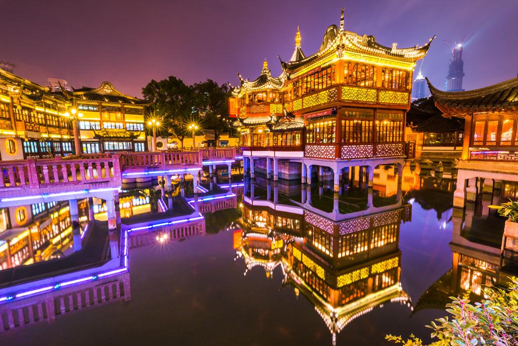 Сад Радости, Шанхай