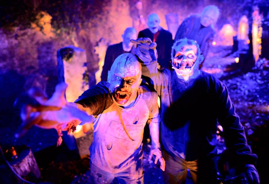 Хэллоуин в замке Франкенштейна