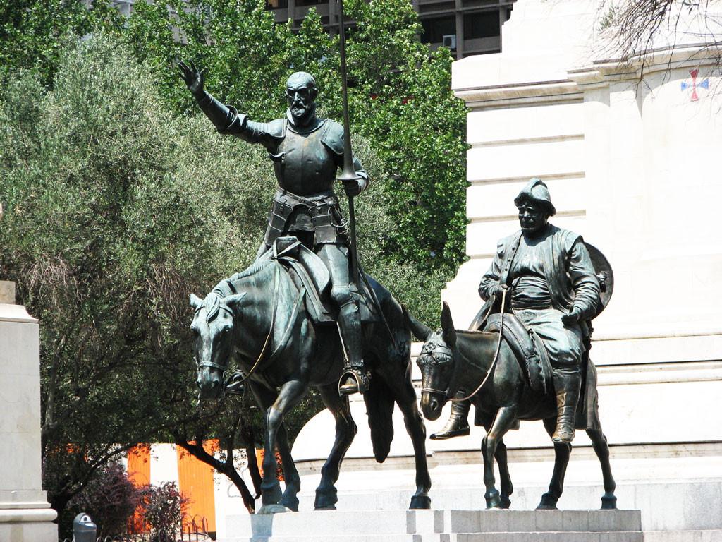 памятник Дон-Кихоту