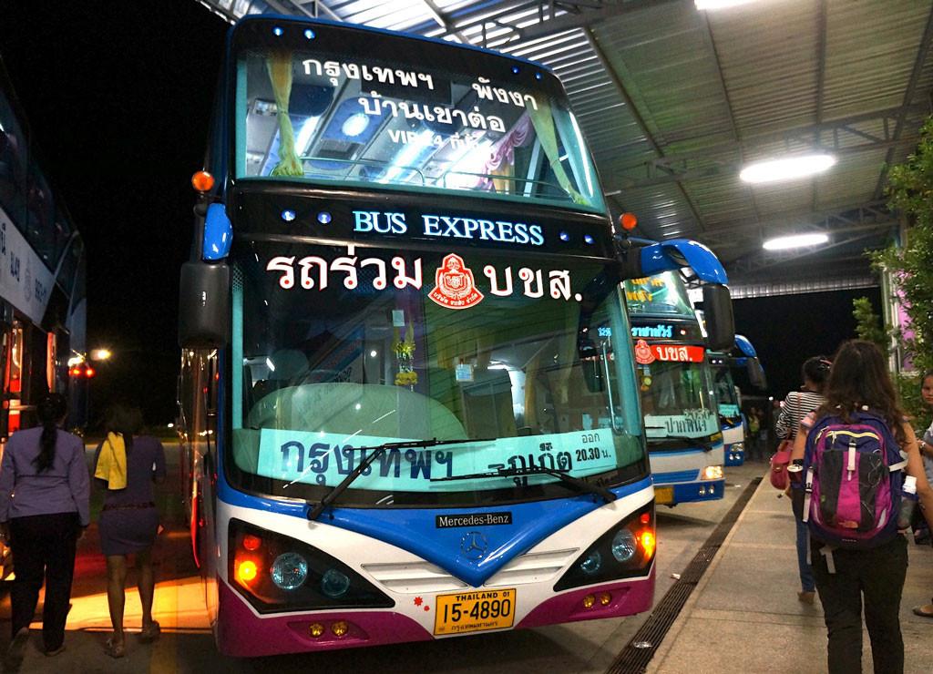 Автобус из Бангкока до Пхукета
