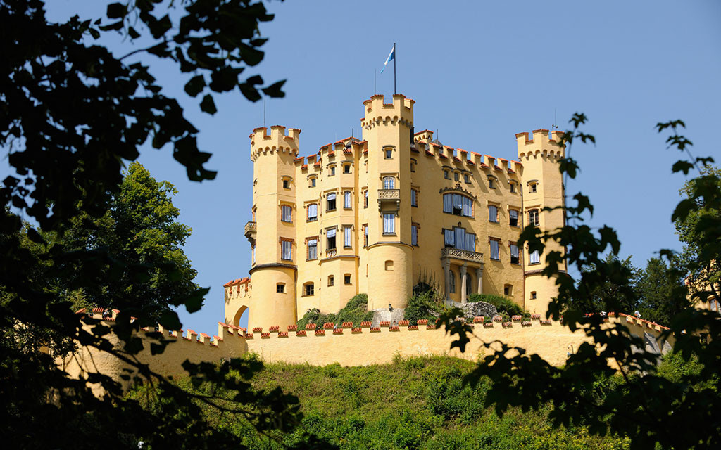 Замок Гогеншвангау