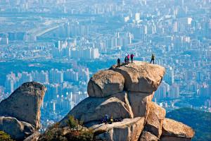 Гора Пукхансан в Сеуле