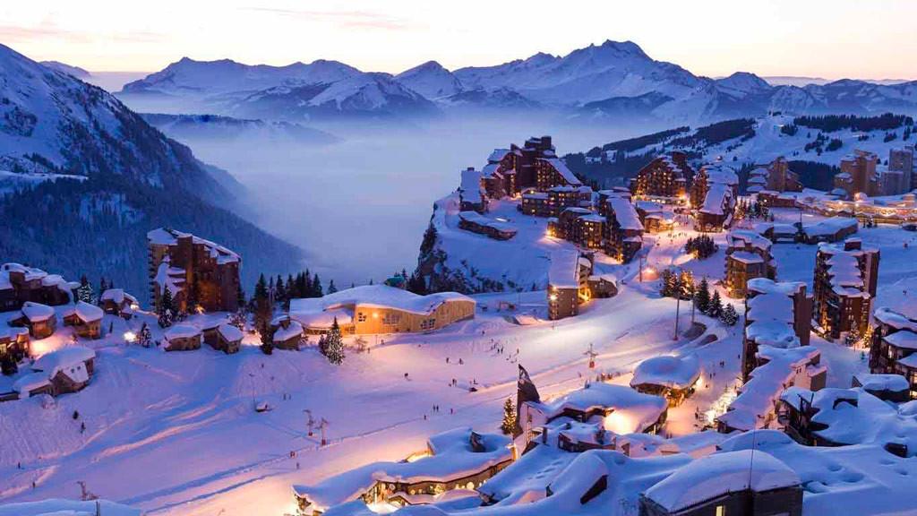 Зимний отдых во Франции