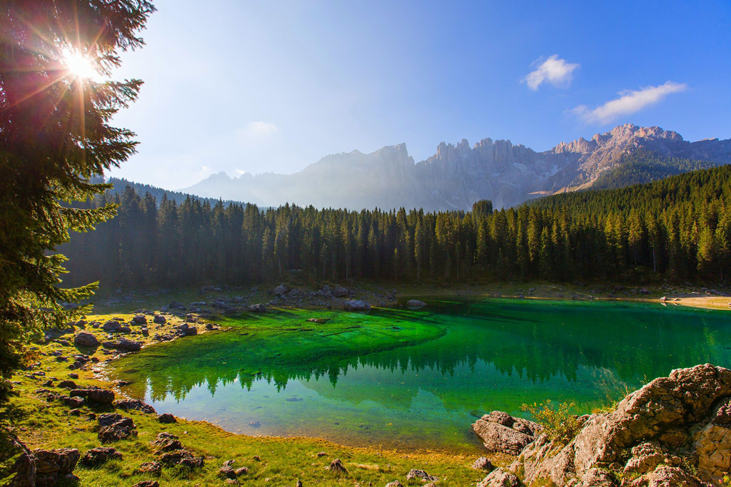 Интересные места, Доломитовые Альпы