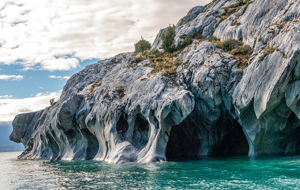 Мраморные пещеры Чиле-Чико