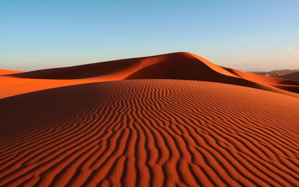 Песчаные дюны в Муйне