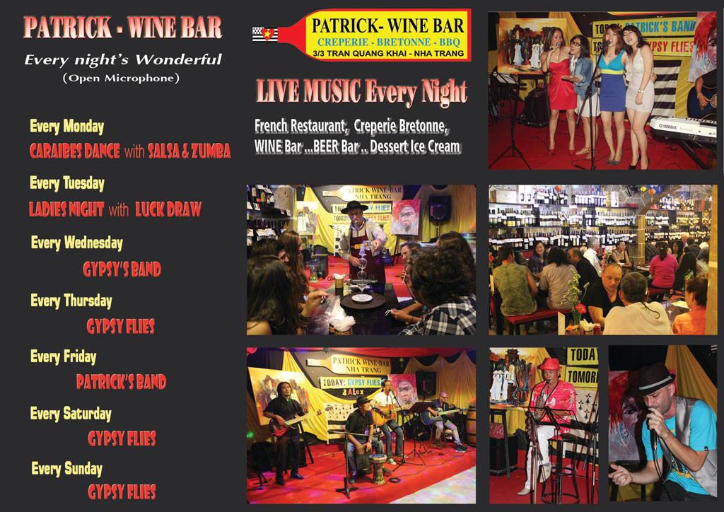 Patrick Wine Bar