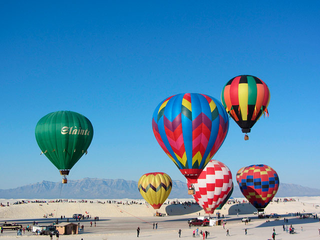 White Sands Balloon Invitational