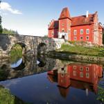 Замок Червена Лгота в Чехии
