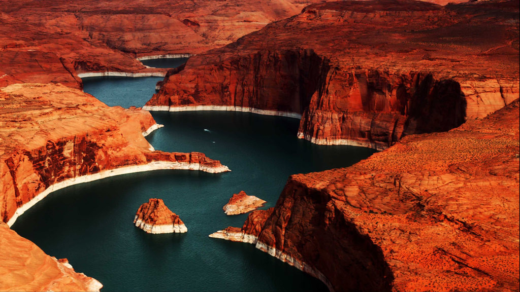 Озеро Пауэлл в США