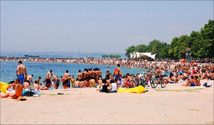 Пляж Йешилкёе