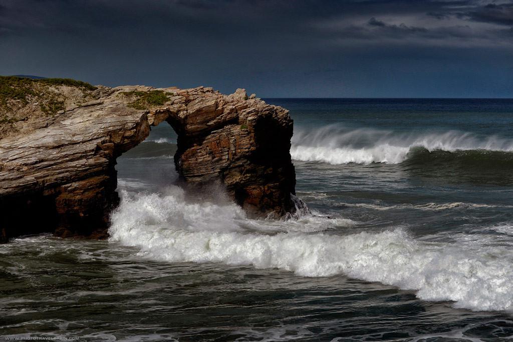Пляж Кафедральных Соборов, Испания