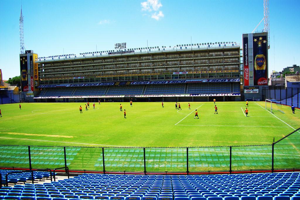 Стадион команды «Бока Хуниорс»