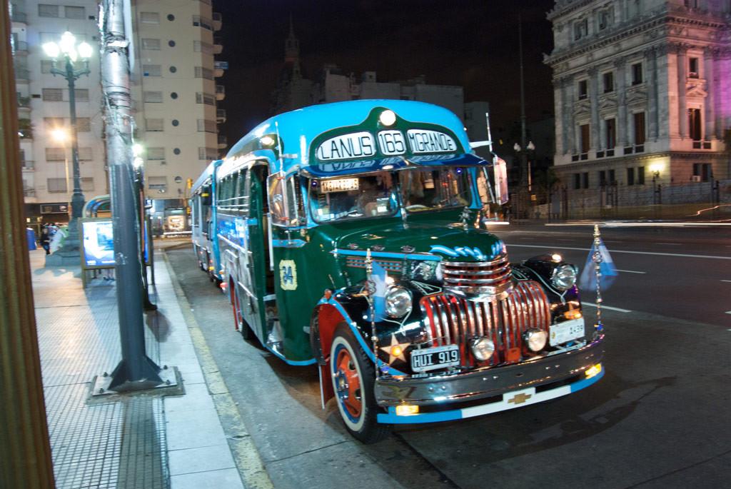 Мини-автобус в Аргентине