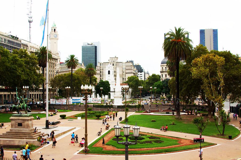 Район Plaza de Mayo