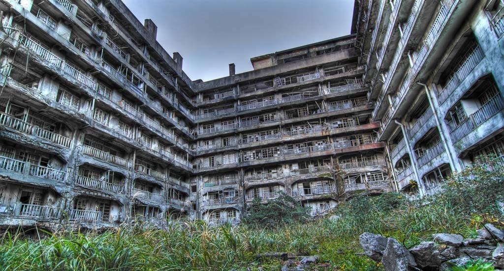 Ганкаджима - город призрак в Японии
