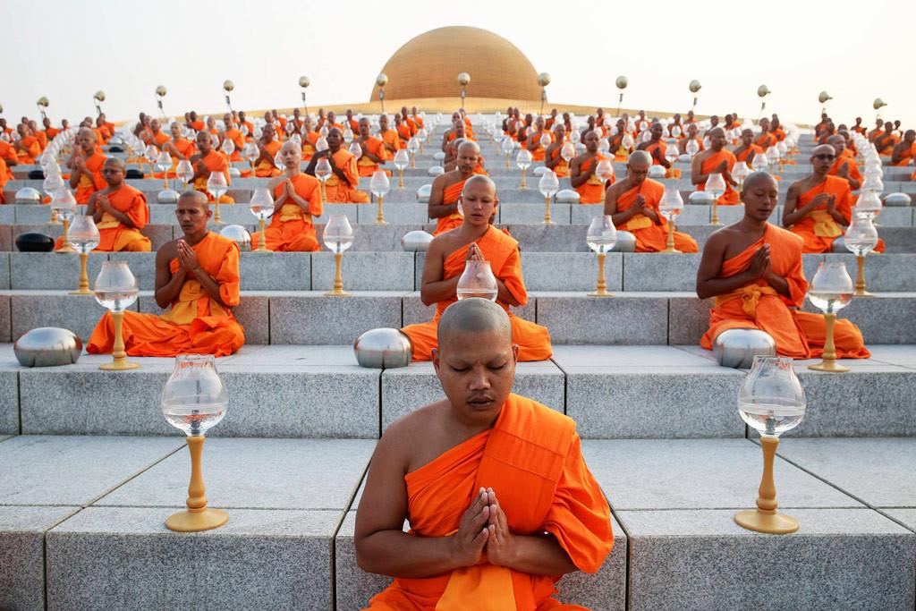 Монахи, Таиланд