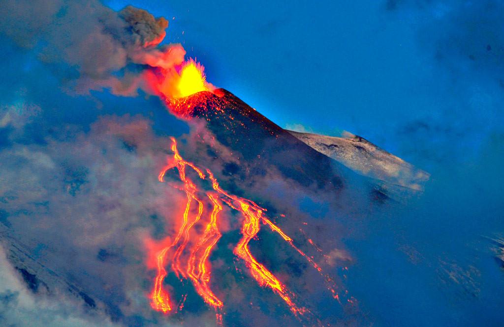 Путешествие к вулкану