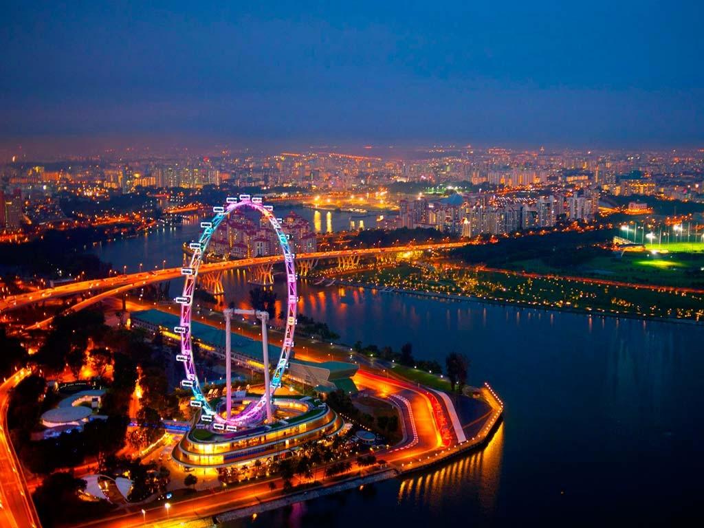 Singapore Flyer, Сингапур