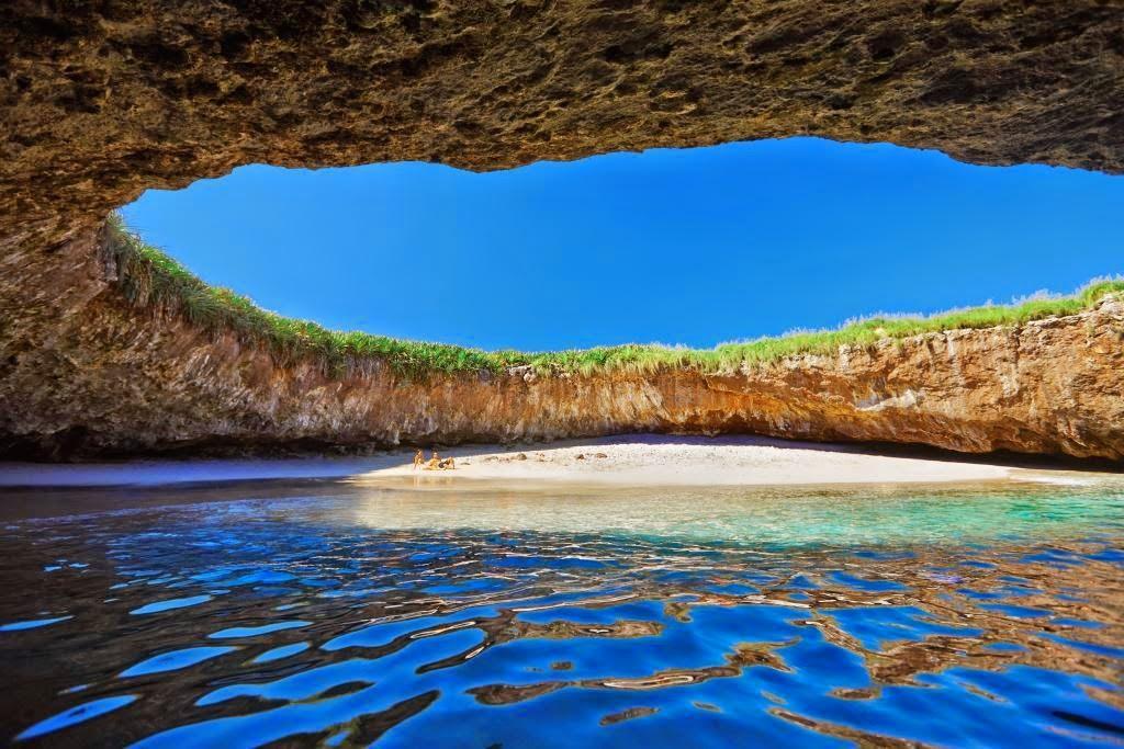 Пляж любви (Playa de amor) - скрытый пляж, острова Лас