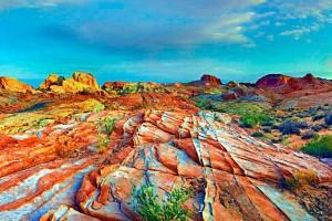 Разноцветные горы Чжанъе Данксиа