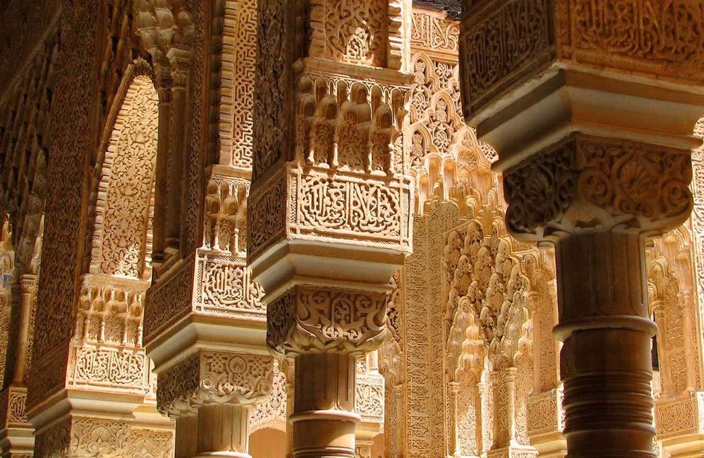 Крепость Альгамбра в Испании