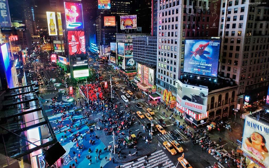 Таймс-сквер США