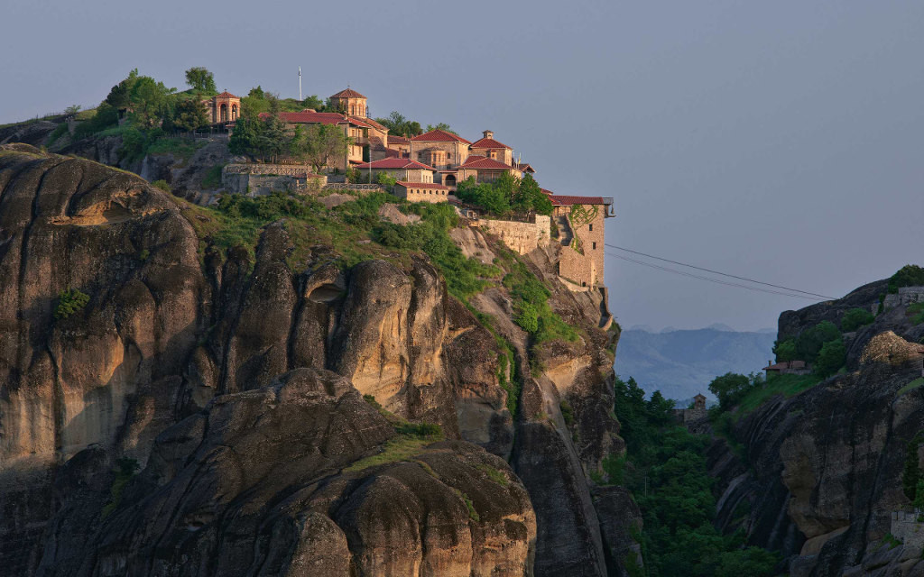 Varlaam Monastery, Meteora, Greece  № 10789 загрузить