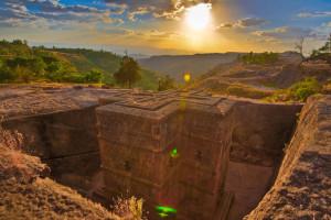 Скальные церкви Лалибелы, Эфиопия