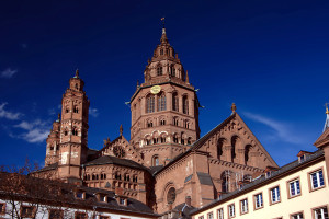 Майнцский собор в Германии