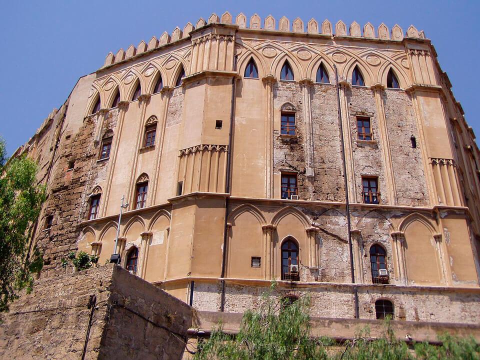 Дворец норманнов в Палермо