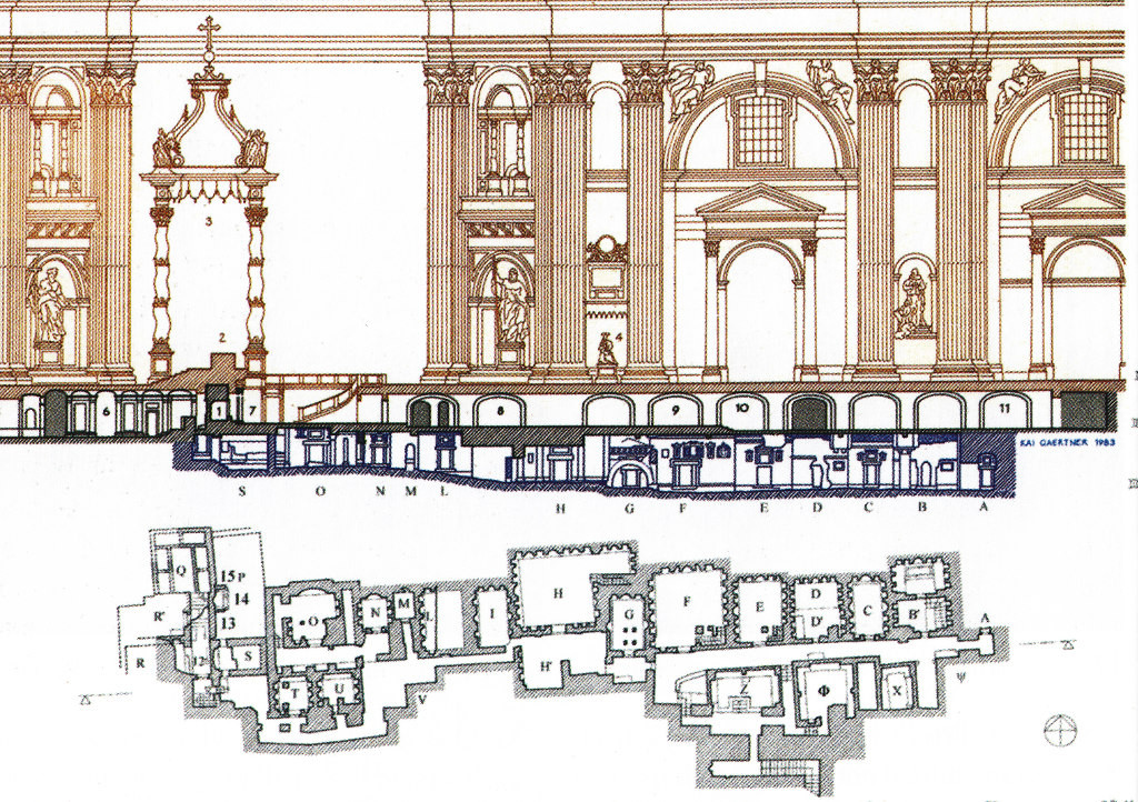 План Ватиканского некрополиса