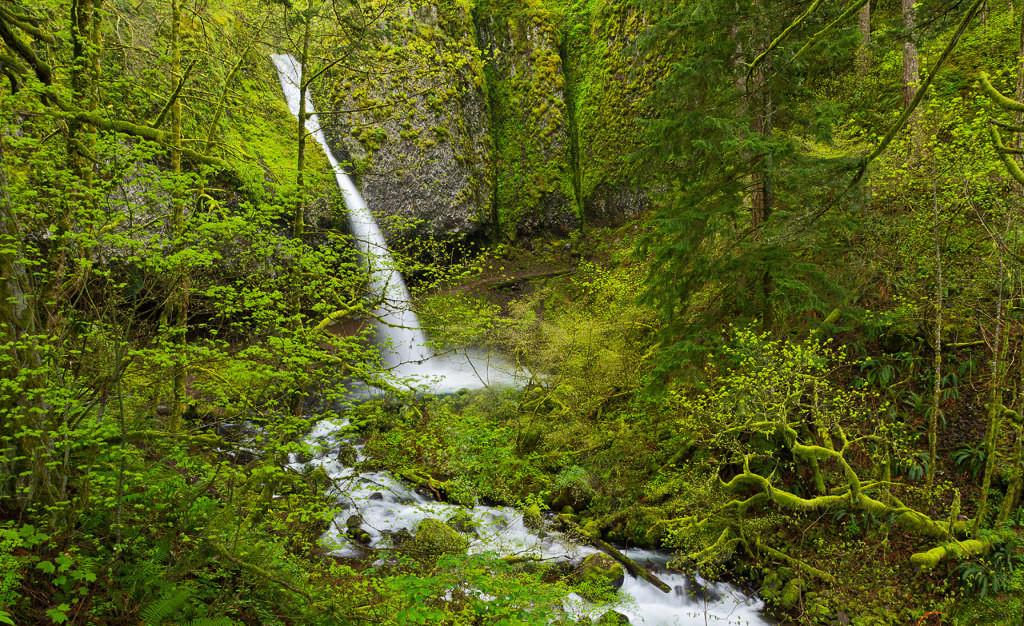 Водопад Конский хвост, США