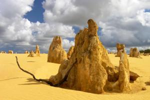 Пустыня Пиннаклс в Австралии