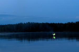 Озеро Паасселка в Финляндии