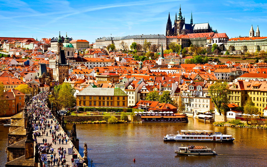 Как добраться из аэропорта до центра Праги
