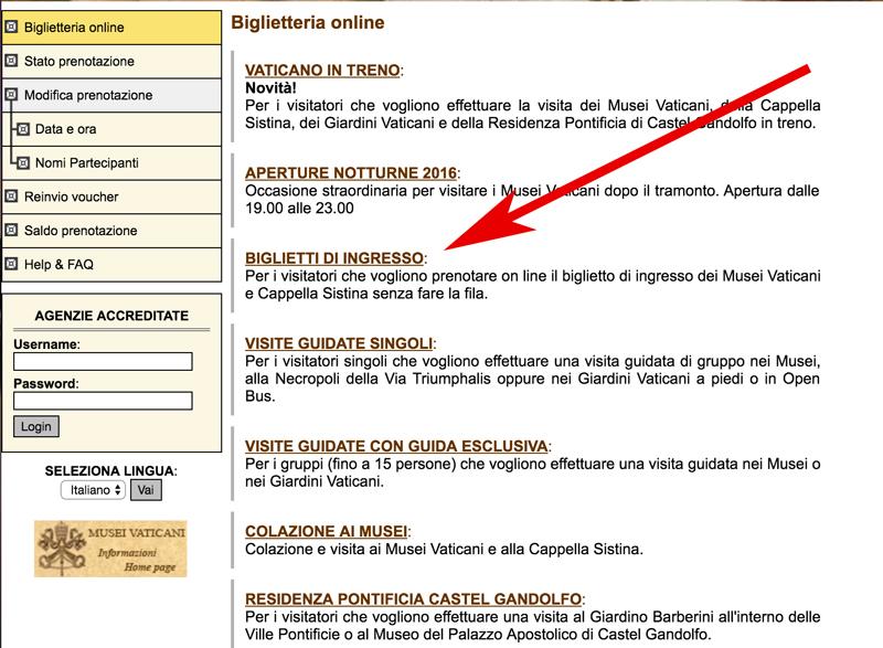 Как купить билеты в музеи Ватикана онлайн