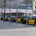 Такси, Барселона
